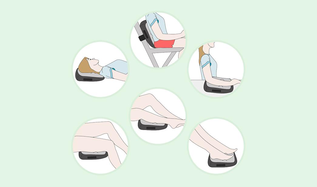 Massage Express - Almofada Massageadora Shiatsu Terapia